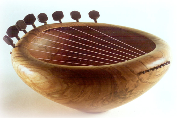Sounding Bowl 19 In Cherry