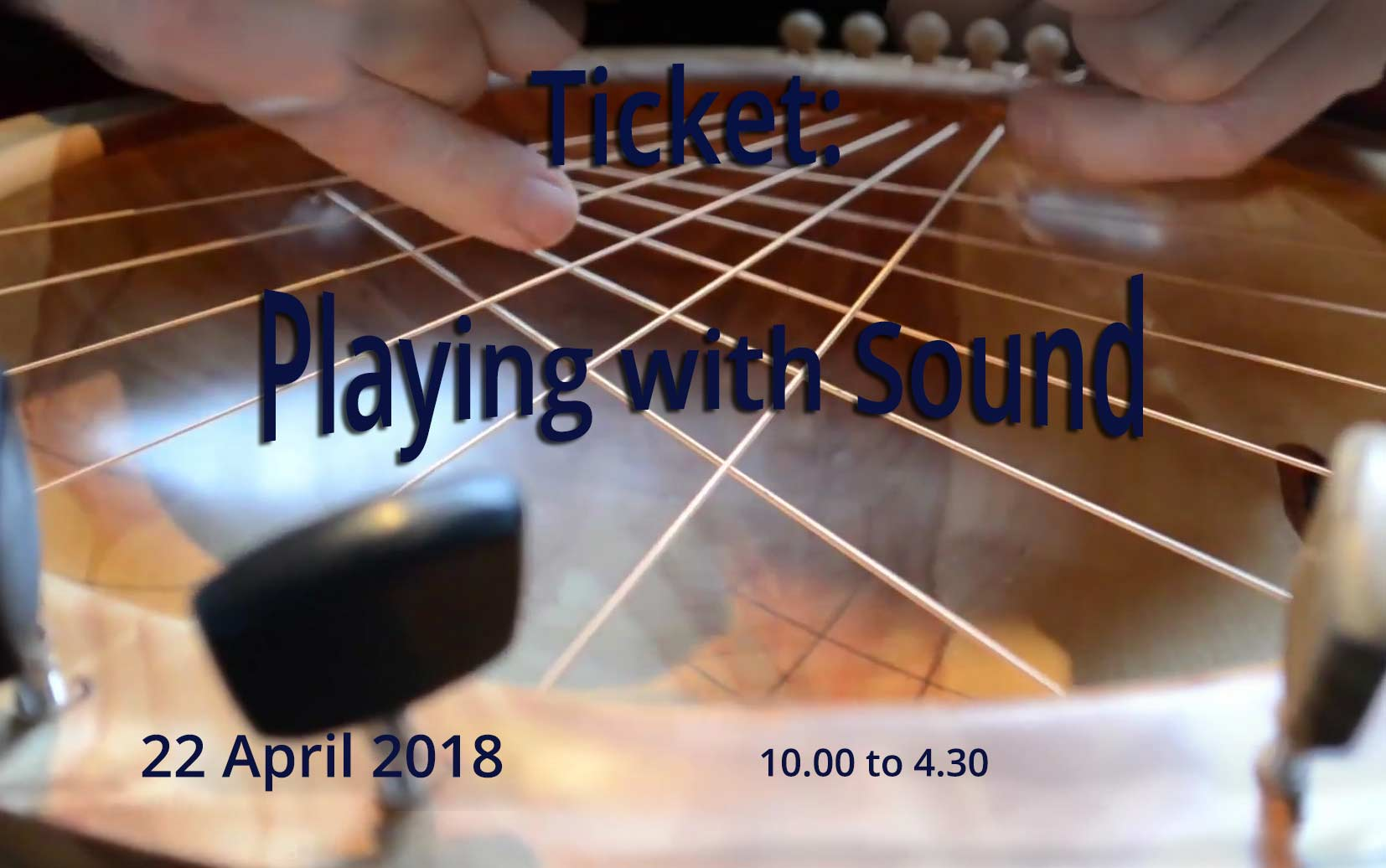"""Playing Your Bowl"" Workshop April 2018 Ticket"
