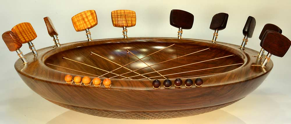 Bridging Bowl In Walnut
