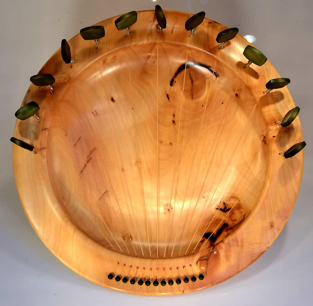 Lyre Bowl In Lime/Linden
