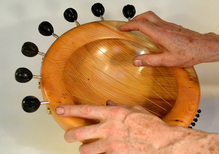 Playing The Sounding Bowls