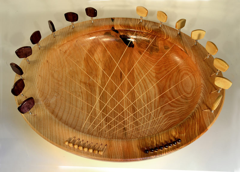 Bridging Bowl In Ash Or Sycamore