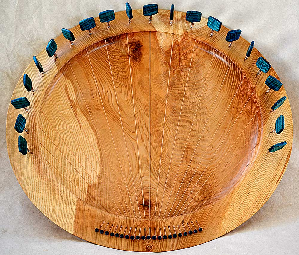 Full-Size Lyre Bowl In Ash