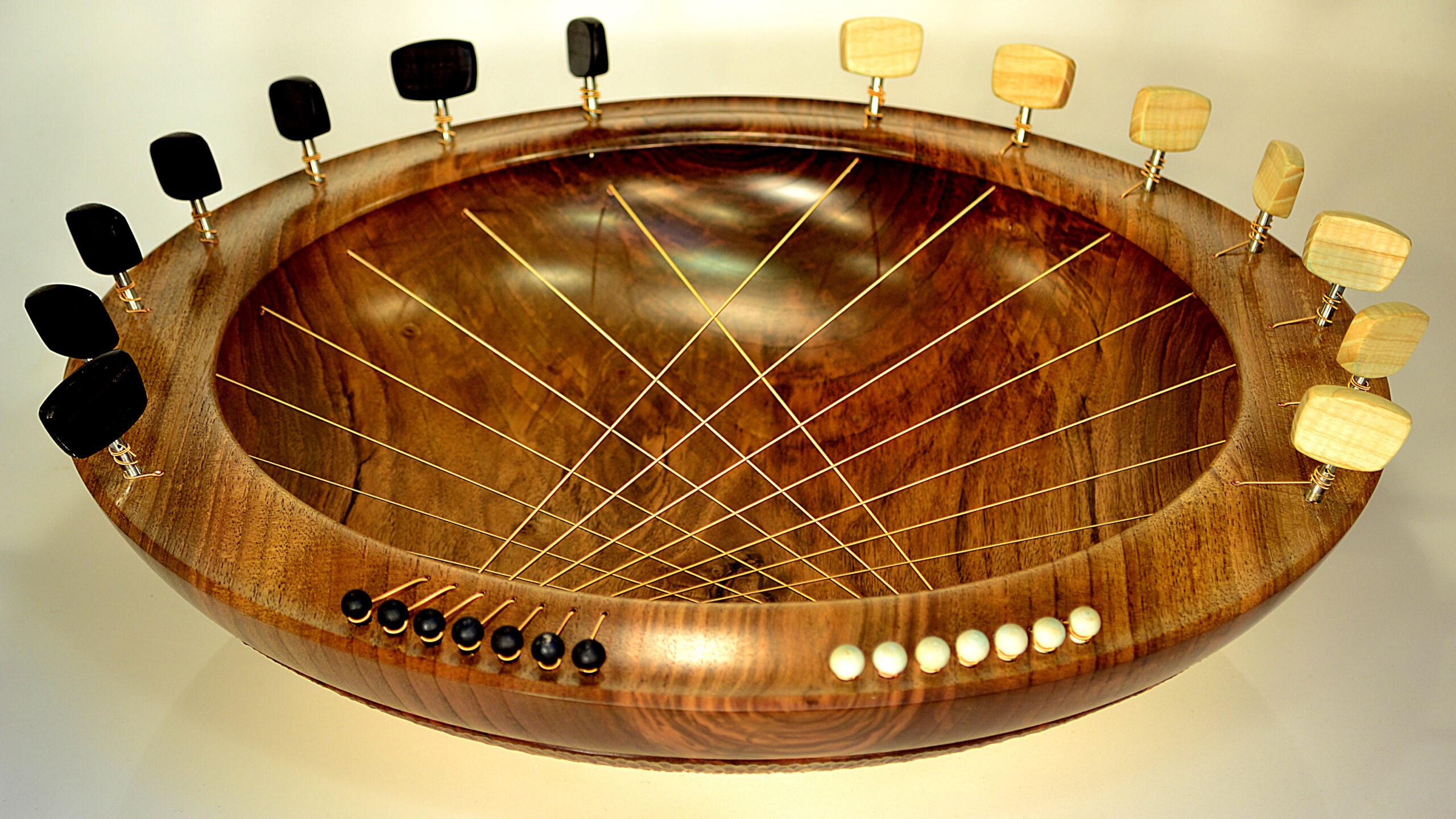 Bridging Bowl In Walnut