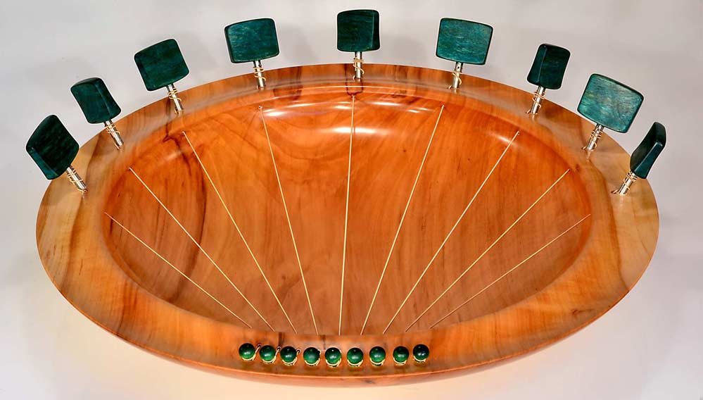 9 String Melody Bowl In Apple