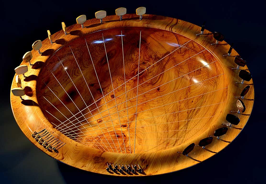 Bridging Bowl In Yew – 22 String